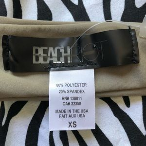 Beach Riot Swim - Beach Riot Halter Wrap Top
